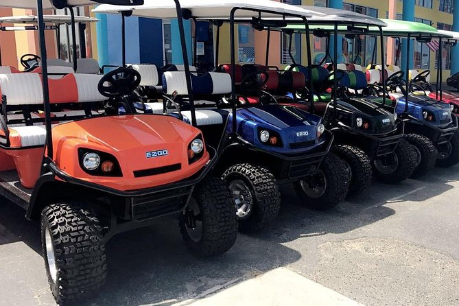 24-Hour Golf Cart Rental in South Padre Island (4 Passengers)