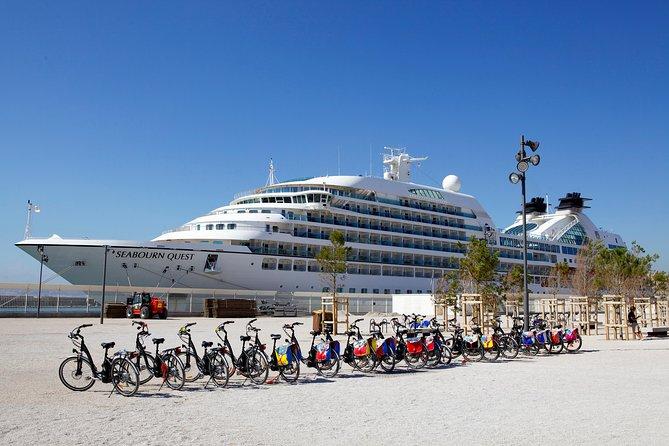 Marseille shore excursion: half-day tour of Marseille by e-bike + swimming