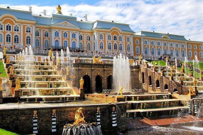 Tour en San Petersburgo de 2 días con Palacio de Peterhof y paseo en barco