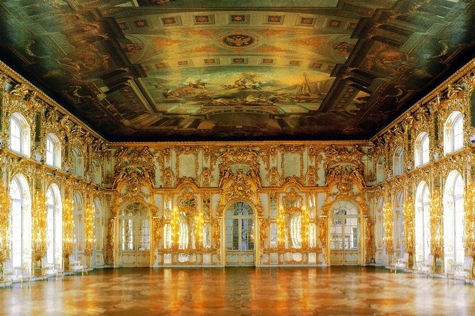 Visita ao Grande Palácio de Peterhof e ao Palácio de Catarina
