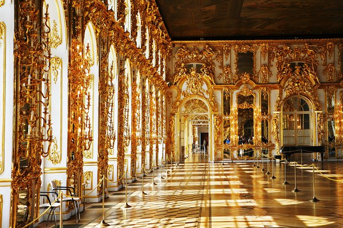 Private 1-Day Shore Excursion with Catherine Palace and Hermitage