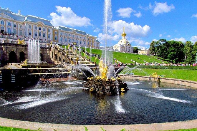 Tour de 1 día todo incluido de San Petersburgo con Hermitage, Peterhof y Pushkin