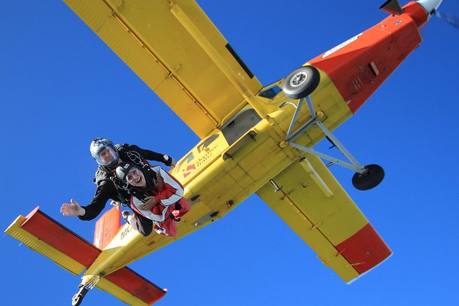 Tandem Skydive 16500ft from Franz Josef