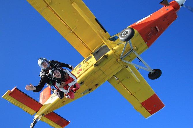 Tandem Skydive 16,500ft from Franz Josef