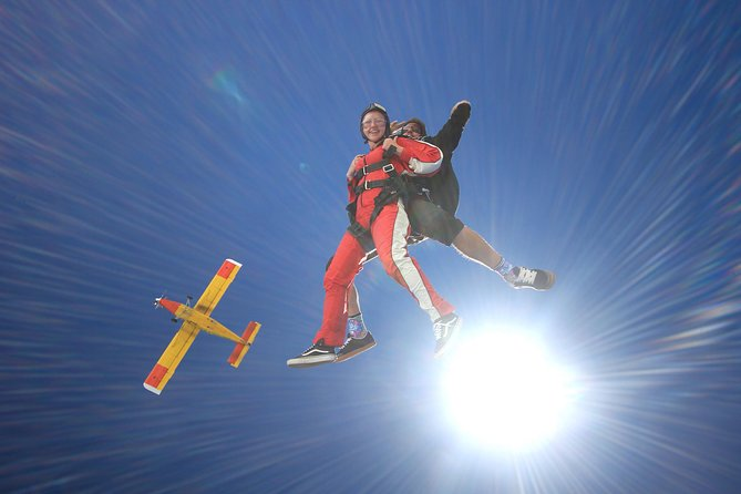 Tandem Skydive 20000ft from Franz Josef