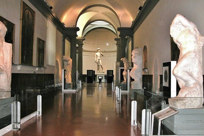 Skip the line guided tour of Michelangelo's David in Academy Gallery