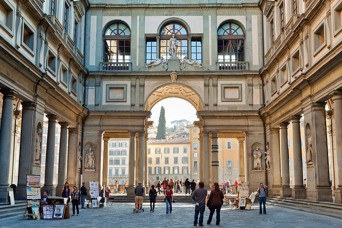 Las maravillas de Florencia: Galería de los Uffizi y recorrido a pie