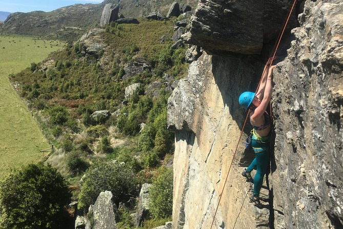 Introduction to Wanaka Rock Climbing - Full Day
