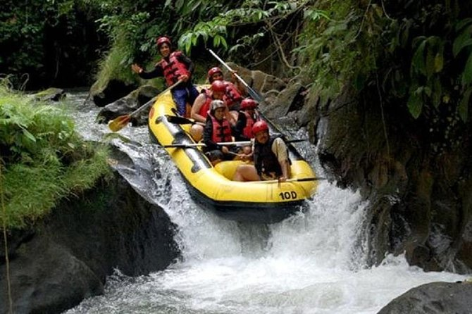 Ubud Ayung River Rafting Uluwatu Fire Sunset Tour - Free WiFi