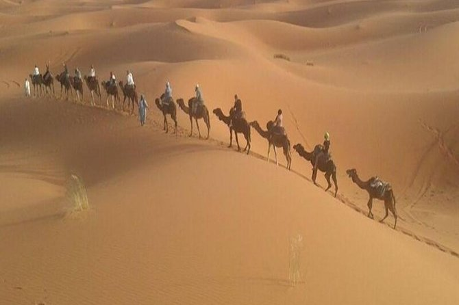 Desert tour : Private 3 days guided tour from Marrakech to Merzouga