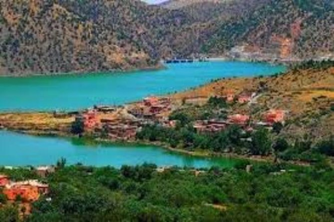 A full day out trip into the Atlas Mountains & Ouirgane lake and Berber valleys