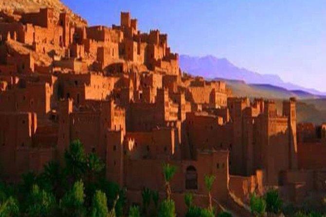 A full day out trip to Ouarzazate & Aït Ben Haddou from Marrakech