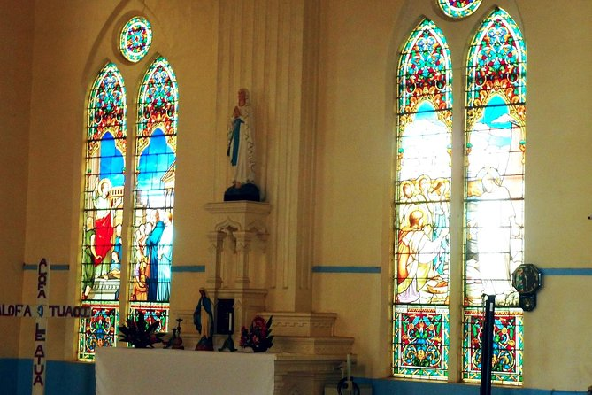 Cathedral - stained glass windows