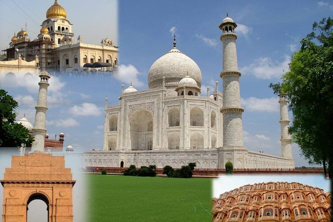 5 Days Private Tour Of Heritage Monuments Of Delhi Agra Jaipur From Delhi