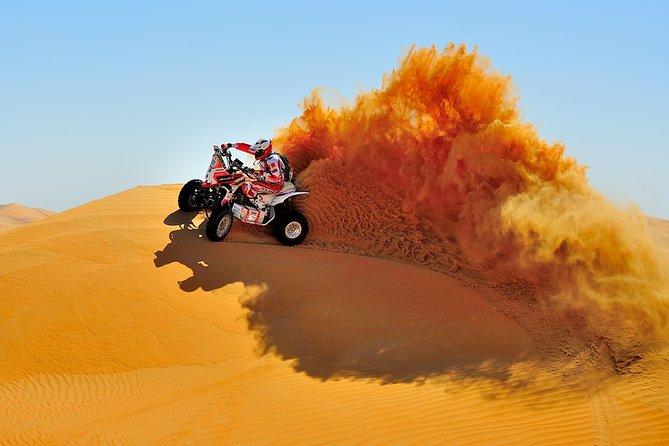 Quad Biking in Tunisian Sahara