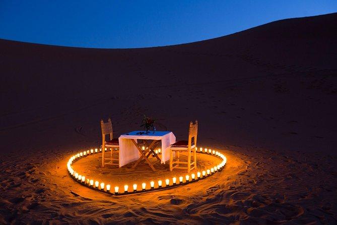Sahara Desert Romantic Dune Dinner Experience