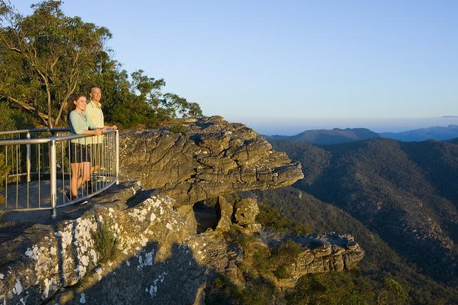 Grampians National Park and Kangaroos visiting MacKenzie Falls from Melbourne