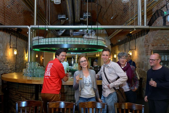 Krakow Beers and Cheers: Culture, History and Beer Small Group Tour with Local