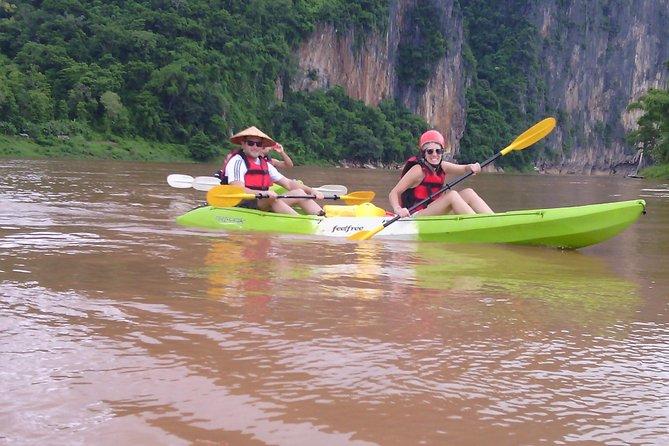 Kayaking in Nam Khan river