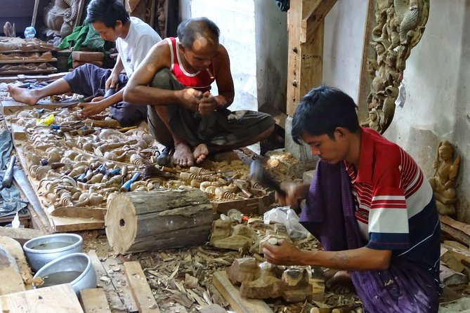 Full-Day Art and Craft Tour in Mandalay
