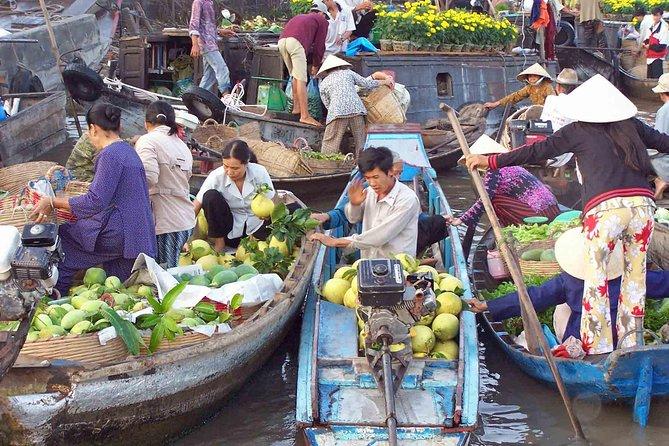 2 day Mekong Delta tour visiting floating market