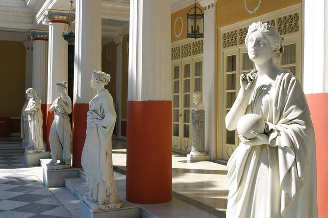 Achillion Palace & Old Corfu Town (Casa Parlante)