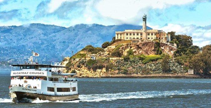 サンフランシスコの究極の日 - 公式のアルカトラズ島ツアーとミュアウッズを含む