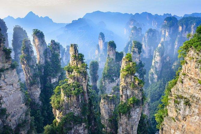 Zhangjiajie a Mt Tianzi, Yuanjiajie Scenic Area con Picnic - 2021