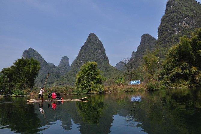 One-Day Li River Cruise com Bamboo Rafting em Yangshuo