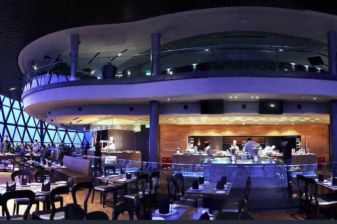 Dinner at the Oriental Pearl Tower Revolving Restaurant with Transfers