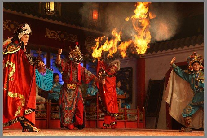 成都のシュフンヤユンティーハウスの四川オペラ