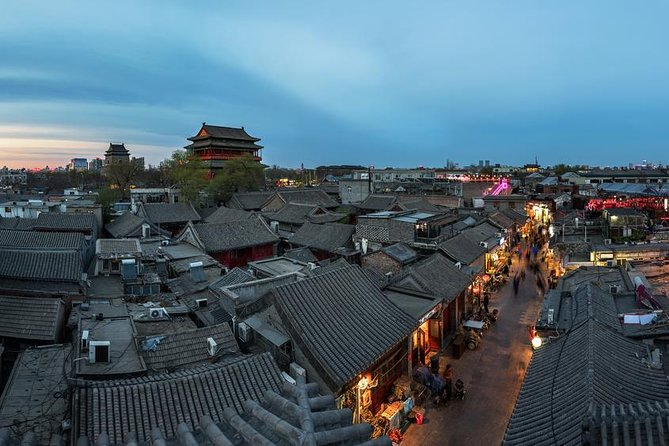 Old Beijing Tour by Rickshaw: Drum Tower, Calligraphy & Dumpling Class opzionale