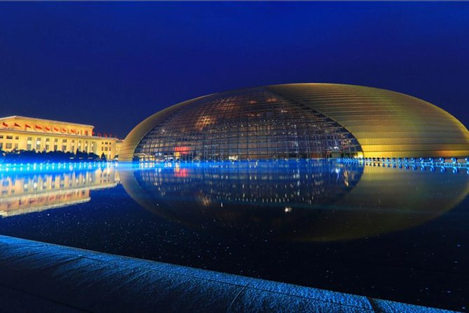 Beijing National Center for the Performing Arts Admission Ticket