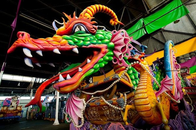 New Orleans Mardi Gras World Behind-the-Scenes Tour