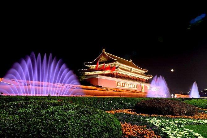 Beijing Private Night Tour met een Engels sprekende chauffeur