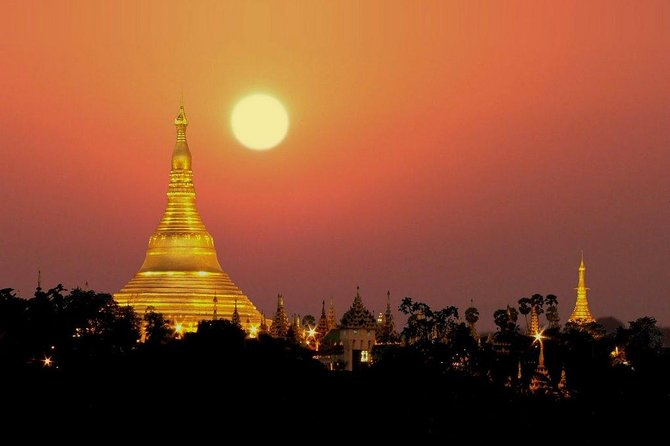 Yangon Full Day Tour with Memorable Sunset Cruise