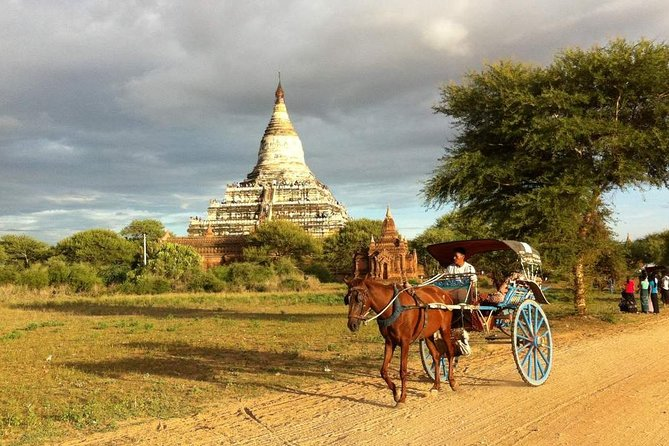 Bagan Horse Cart Ride Tour with Puppet Show