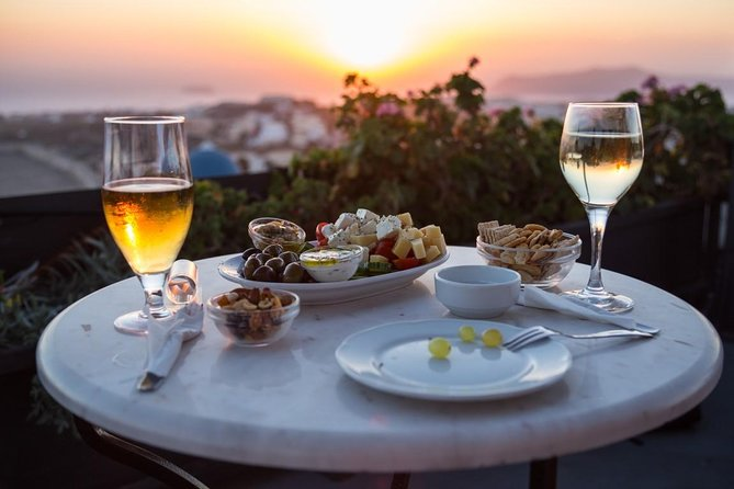 Santorini Half-Day Sunset Wine Tasting