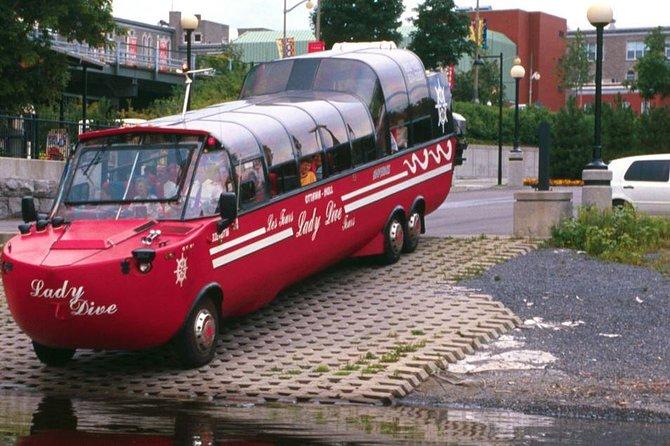 City tour da cidade de Ottawa por terra e água