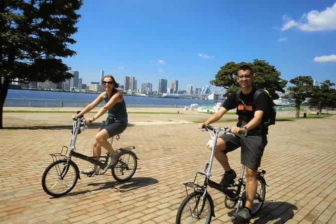 Tokyo by Bike: Tsukiji Market and Odaiba Including Tokyo Bay Cruise