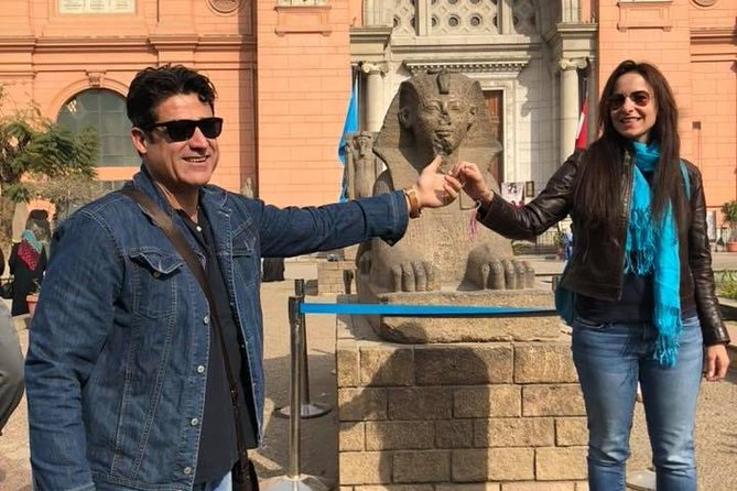 half day private guided tour to Egyptian museum from cairo giza hotels