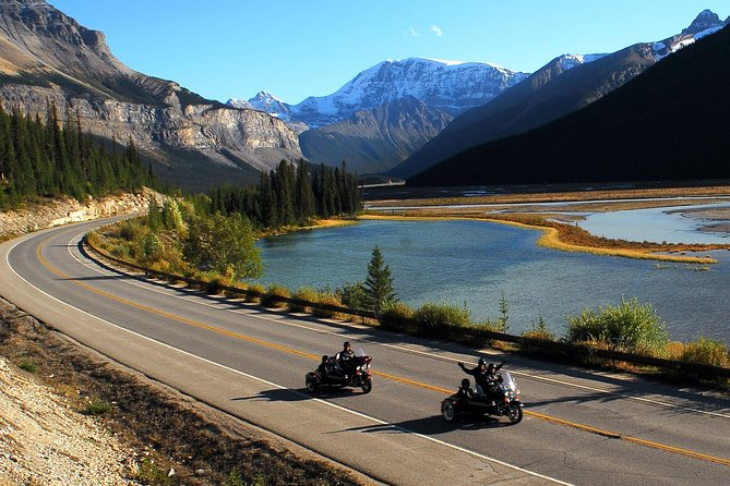 Canadian Rockies Tour by Chauffeured Sidecar from Jasper