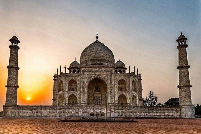 Private Day Trip By Train : Taj Mahal, Agra Fort & Mehtab Bagh
