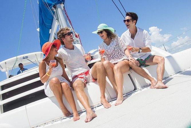 Islas Mujeres All Inclusive Luxury Yacht & Snorkel from Cancun