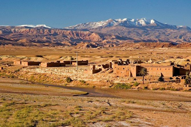 3-daagse Sahara Tour vanuit Marrakech: Ouarzazate, Draa River Valley en Sand Dunes