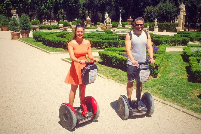 Villa Borghese and City Centre by Segway