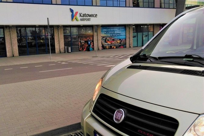 Kraków - Katowice Airport Transfer IN & OUT up to 8 pax
