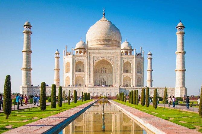 Tour Privado com Taj Mahal, Forte de Agra e Fatehpur Sikri em um único dia de carro