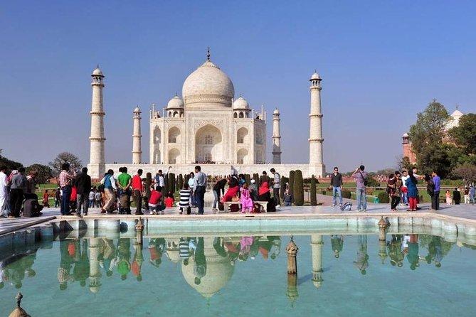 Sunrise Taj Mahal and Agra Fort Private Tour from Delhi