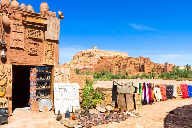 Excursão de um dia de Marrakech a Ait Ben Haddou e Ouarzazate